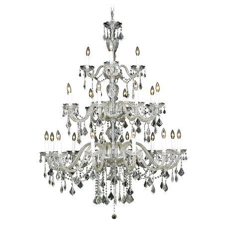 Elegant Lighting Swarovski Elements Clear Crystal Alexandria 24-Light