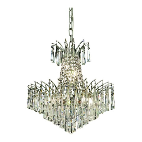 Elegant Lighting Swarovski Elements Clear Crystal Victoria 8-Light