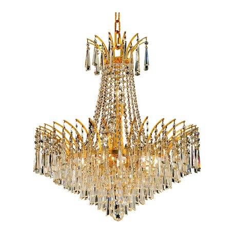 Elegant Lighting Swarovski Elements Clear Crystal Victoria 11-Light