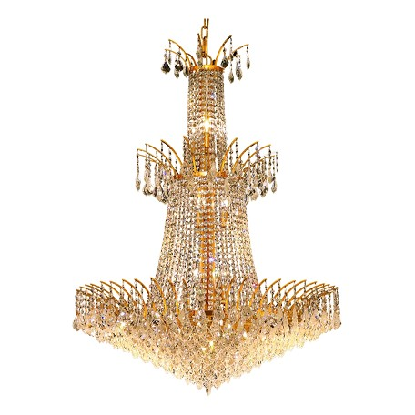 Elegant Lighting Swarovski Elements Clear Crystal Victoria 18-Light