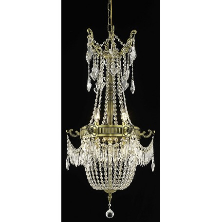 Elegant Lighting Swarovski Elements Clear Crystal Esperanza 6-Light