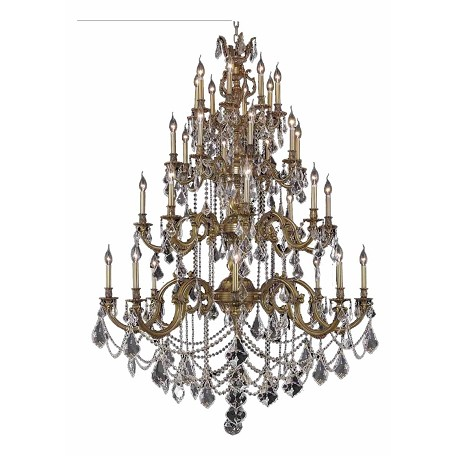 Elegant Lighting Elegant Cut Clear Crystal Marseille 32-Light