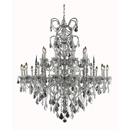 Elegant Lighting Elegant Cut Clear Crystal Athena 24 Light_p_78769