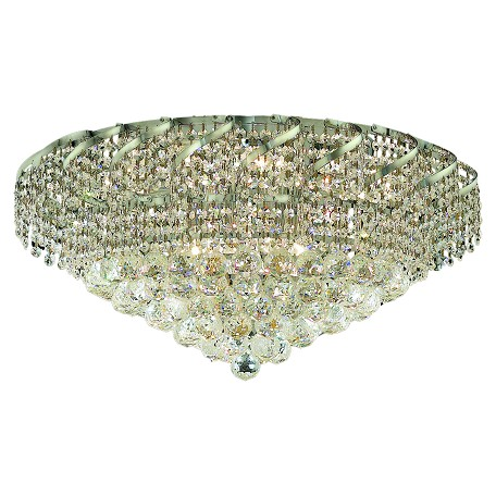 Elegant Lighting Swarovski Spectra Clear Crystal Belenus 10-Light