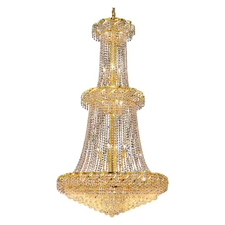 Elegant Lighting Swarovski Elements Clear Crystal Belenus 32-Light
