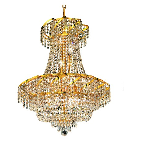 Elegant Lighting Swarovski Elements Clear Crystal Belenus 11-Light