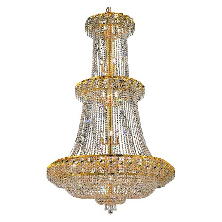 Elegant Lighting Swarovski Spectra Clear Crystal Belenus 32-Light