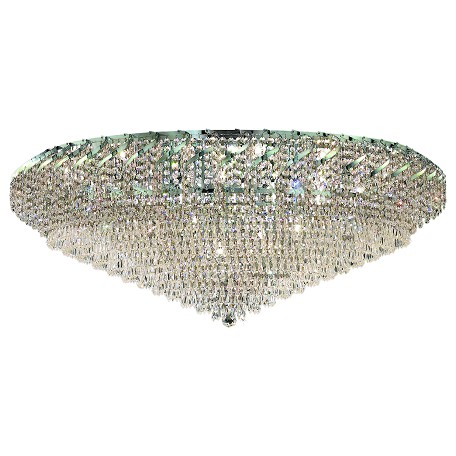 Elegant Lighting Elegant Cut Clear Crystal Belenus 36-Light