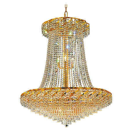 Elegant Lighting Swarovski Spectra Clear Crystal Belenus 22-Light