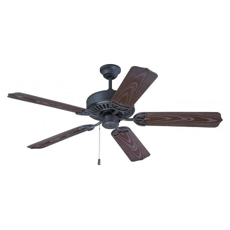 Craftmade Brown Outdoor Patio Fan 52in. 5 Blade Outdoor Ceiling Fan - Blades Included