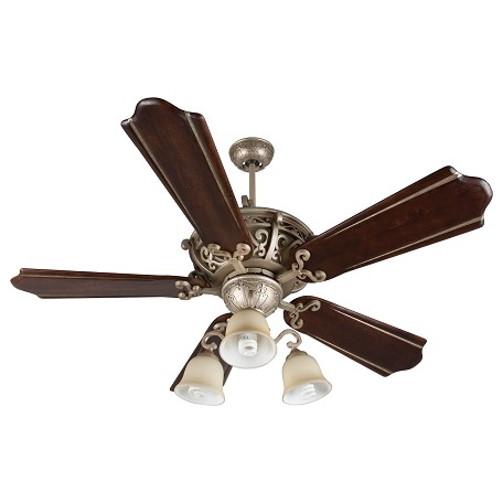 "Craftmade Toscana Ceiling Fan With Five 52"" Blades, Athenian Obol"