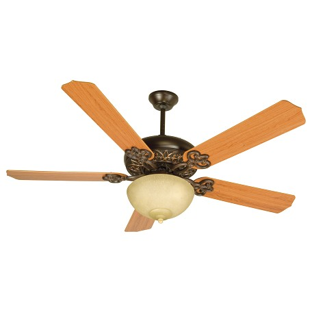 Craftmade Oiled Bronze Gilded Ceiling Fan