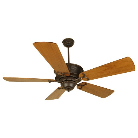 Craftmade Aged Bronze Riata 54in. 5 Blade Indoor Ceiling Fan - Blades Included