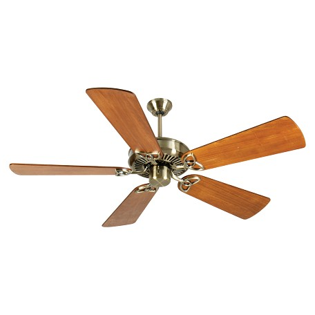 Craftmade Antique Brass CXL 54in. 5 Blade Energy Star Indoor Ceiling Fan - Blades Included
