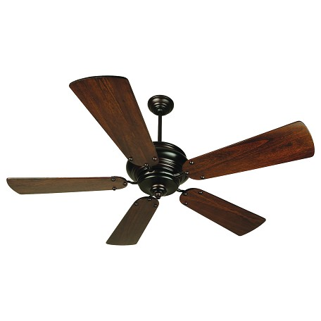 Craftmade Oiled Bronze Townsend 54in. 5 Blade Indoor Ceiling Fan - Blades Included