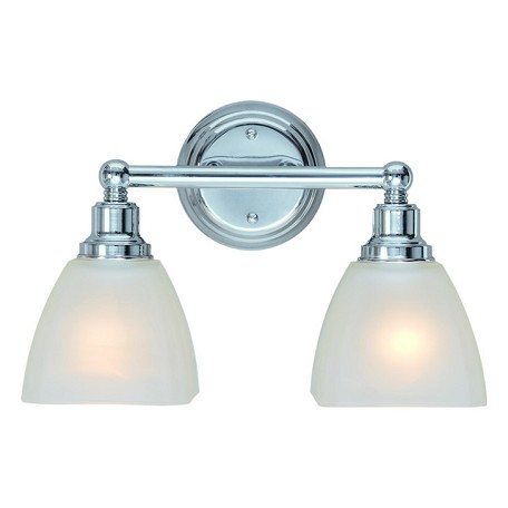 Craftmade Two Light Chrome Vanity