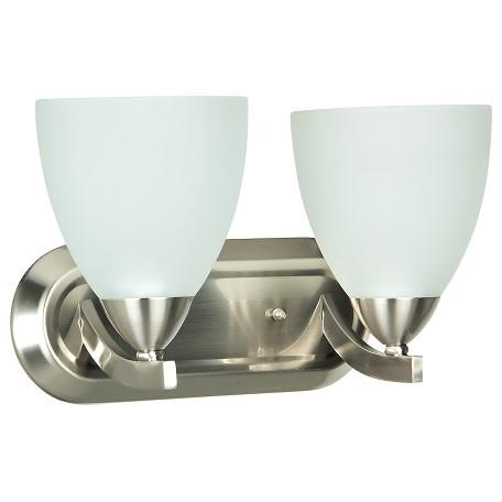 Vanity Lights Craftmade : Craftmade 2 Light Vanity Satin Nickel 37702-SN From Almeda Collection
