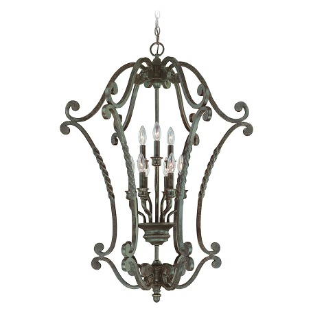 Craftmade English Toffee Open Frame Foyer Hall Fixture