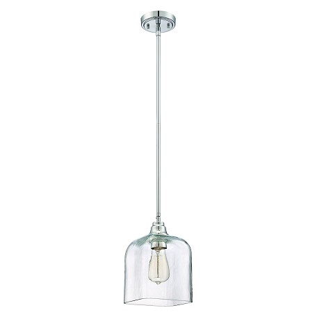 Craftmade 1 Light Mini Pendant W/Clear Glass