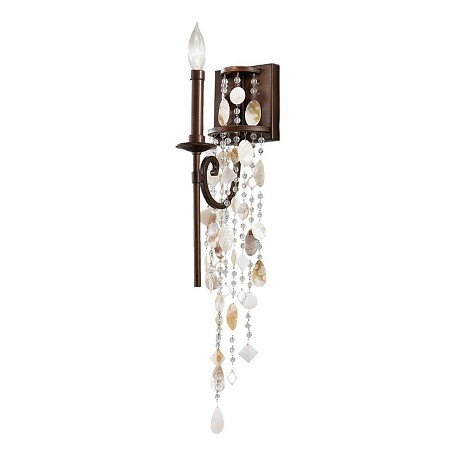 Feiss One Light Heritage Bronze Wall Light