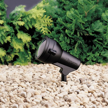 Kichler Landscape One Light Textured Black Spot Light