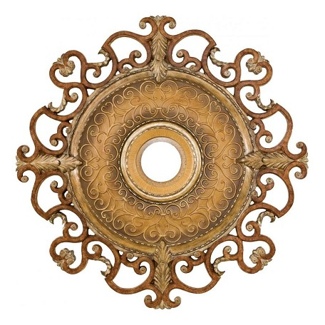 Minka-Aire Tuscan Patina 38In. Diamenter Ceiling Medallion From The Napoli Collection