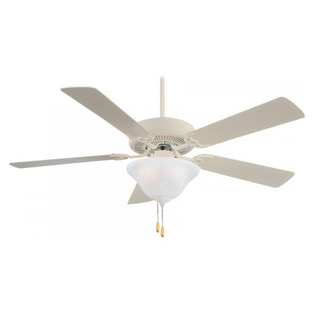 Minka-Aire Three Light Shell White Ceiling Fan
