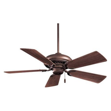 Minka-Aire Oil Rubbed Bronze 5 Blade 44In. Ceiling Fan Blades Included