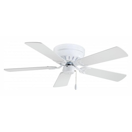 Minka-Aire White 5 Blade 42In. Ceiling Fan - Blades Included