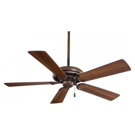 Minka-Aire Belcaro Walnut 5 Blade 52In. Ceiling Fan Blades Included