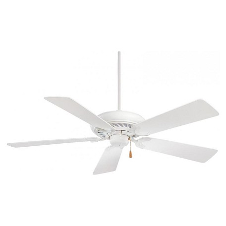 Minka-Aire Shell White 5 Blade 52In. Ceiling Fan Blades Included