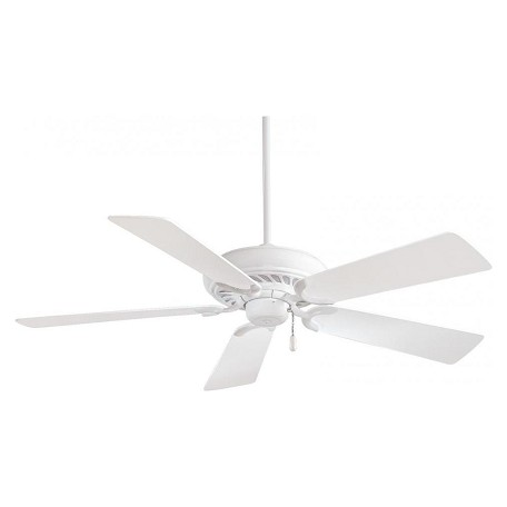 Minka-Aire White 5 Blade 52In. Ceiling Fan Blades Included