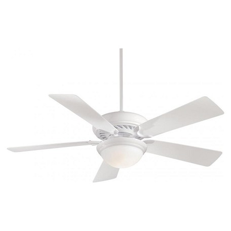 Minka-Aire One Light White Ceiling Fan