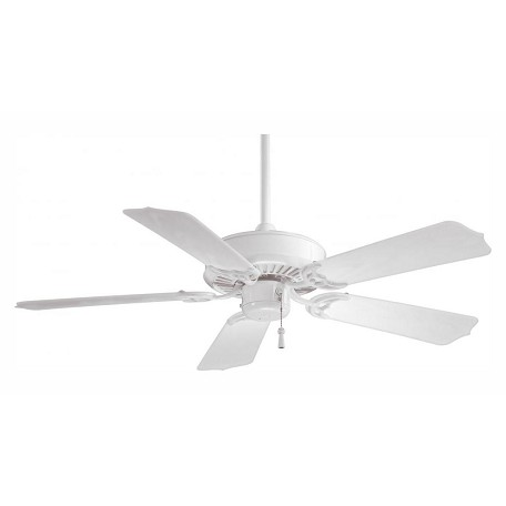 Minka-Aire White 5 Blade 42In. Indoor Outdoor Energy Star Ceiling Fan Blades Included