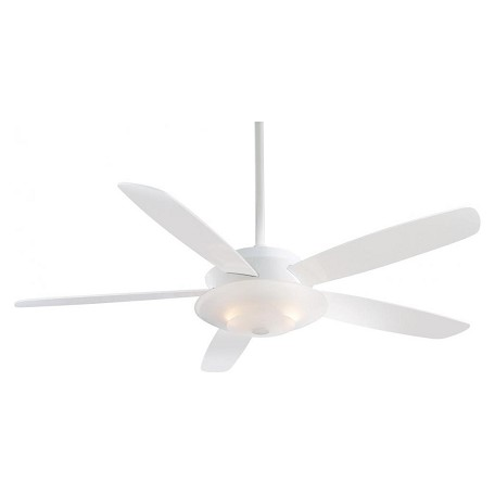 Minka-Aire White 54In. 5 Blade Ceiling Fan From The Airus Collection