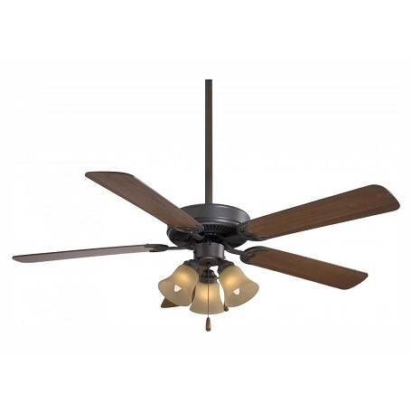 Minka-Aire One Light Oil Rubbed Bronze Stain Ceiling Fan