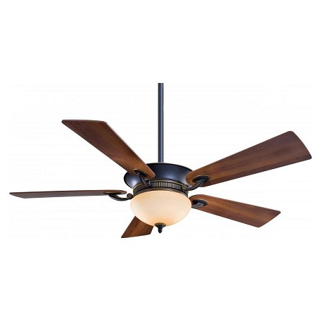 Minka-Aire Eight Light Dark Restoration Bronze Ceiling Fan