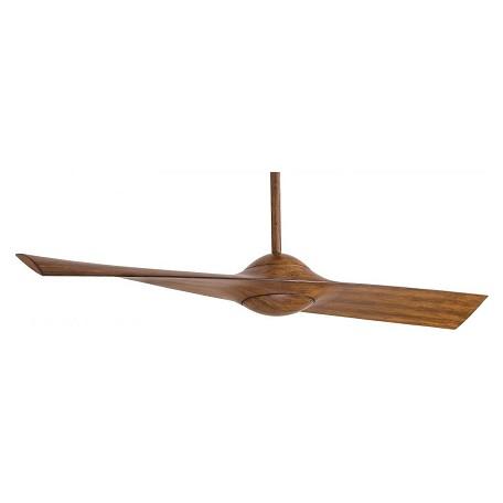 Minka Aire Distressed Koa 1 Blade 52in Indoor Ceiling Fan