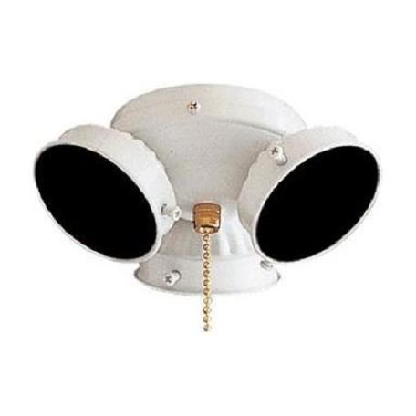 Minka Aire White Ceiling Fan Light Kit White K33 L 44