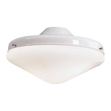 Minka-Aire White 2 Light Universal Ceiling Fan Light Kit