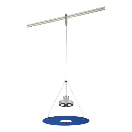 Minka George Kovacs Silver Blue Acrylic Series 4 Fixtures Led