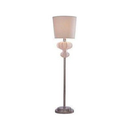 Minka George Kovacs Chrome Contemporary / Modern Table Lamp from the Slices Collection