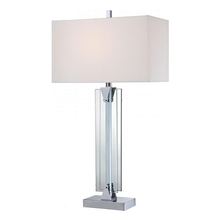 Minka George Kovacs Chrome 1 Light Table Lamp In Chrome
