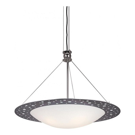 Minka George Kovacs Satin Stainless Steel 4 Light Bowl Shaped Pendant from the Holy Collection