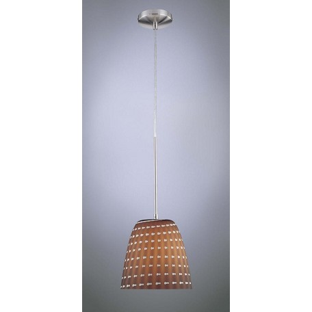 Minka George Kovacs Brushed Nickel 1 Light Mini Pendant from the Families Collection