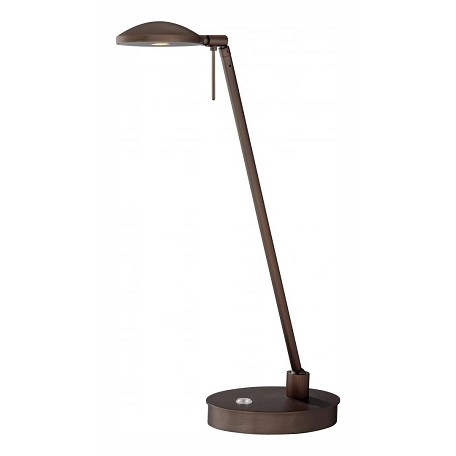 Minka George Kovacs One Light Metal Shade Copper Bronze Patina Table Lamp