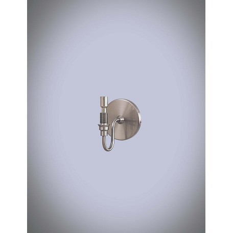 Minka George Kovacs Brushed Nickel 1 Light 5.25in. Height Wall Sconce Bracket