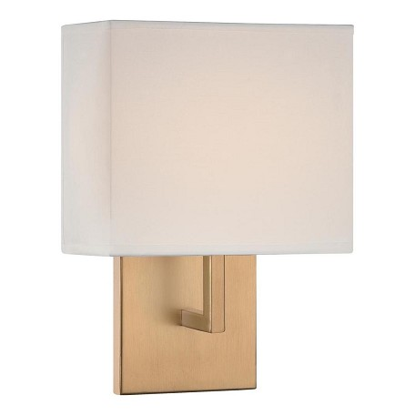 Minka George Kovacs Honey Gold 1 Light 11.25in. Height ADA Compliant Wall Sconce in Honey Gold