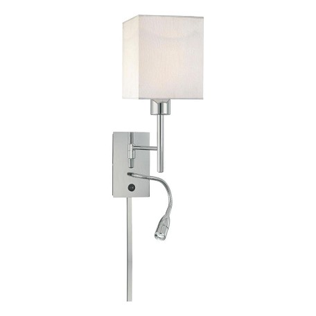Minka George Kovacs Chrome 1 Light 20.5in. Height Plug In Wall Sconce