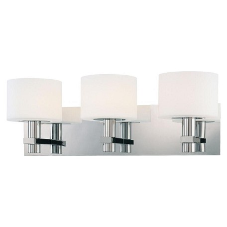 Minka George Kovacs Chrome 3 Light 21in. Bathroom Vanity Light from the Stem Collection